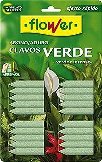 Flower 15501 - abono Clavos Verde, 30 x 2