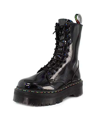 30d67e4f3dd Dr. Martens Jadon Womens Rainbow Black Hi Boots-UK 5  Amazon.com.au ...