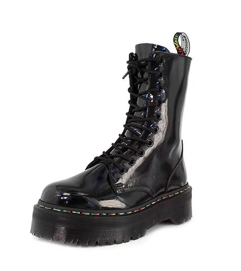 Dr. Martens Jadon Mujer Rainbow Negro Hi Botas: Amazon.es: Zapatos y complementos