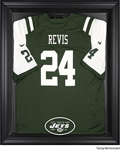 New York Jets Jersey Display Case by Mounted Memories