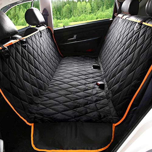 Kytely Upgraded Dog Car Seat Cover Waterproof Pet Seat Cover for Back Seat, Scratch Proof & Nonslip Backing & Hammock, 600D Heavy Duty Dog Seat Cover for Cars, Trucks and Suvs (Best Car Cover Company)