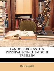 Landolt-Bornstein Physikalisch-Chemische Tabellen