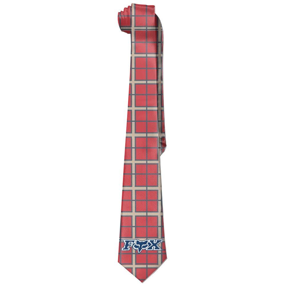 mdshop Hombres personalizados de Fox Racing corbata Skinny lazos ...