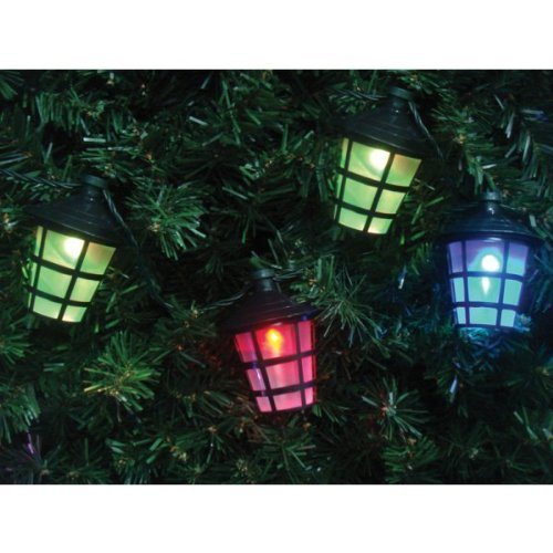 40 CHRISTMAS LED LANTERN LIGHTS. TREES, HOUSE & OUTSIDE. GARDEN ...