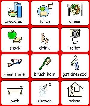 Positive Behaviour Symbols Sen Support