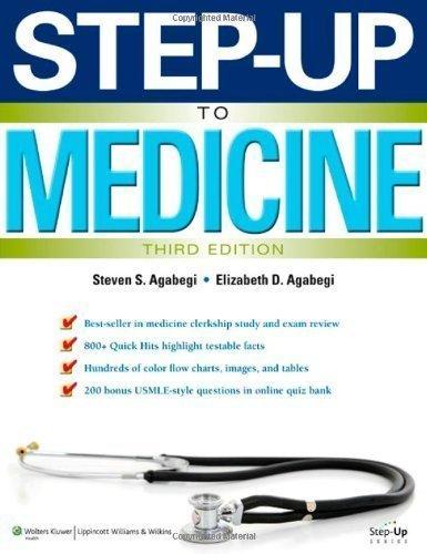 Step-Up to Medicine (Step-Up Series)3rd EDITION by Agabegi MD, Steven S., Agabegi MD, Elizabeth 3rd (third), North America (2012) Paperback