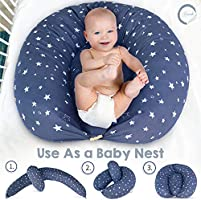 Cotton Cover for Multipurpose Breast Feeding MATERNITY Nursing Pillow Cover ONLY 28