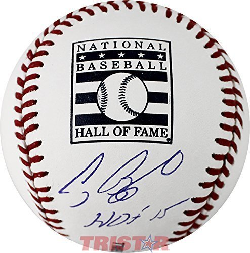 Craig Biggio Signed Autographed Rawlings Hall of Fame Baseball Inscribed HOF 2015 TRISTAR COA