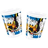Donald Duck Party - Donald Mania Party Plastic Cups x 8 by Donald Duck