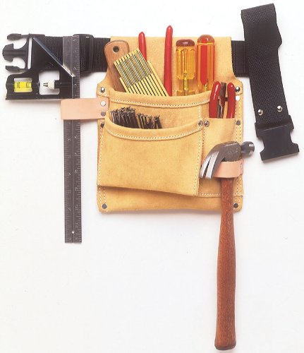Nail And Tool Bag With Belt