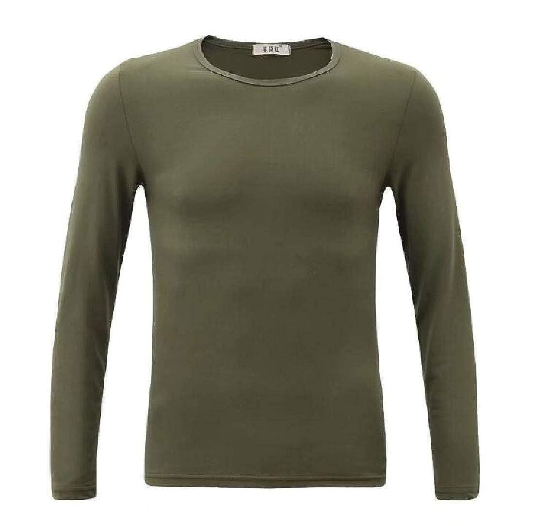 Donci Loose and Comfortable Fashion Print Horizontal Stripes Basic Tees Personality Print T Shirt Men