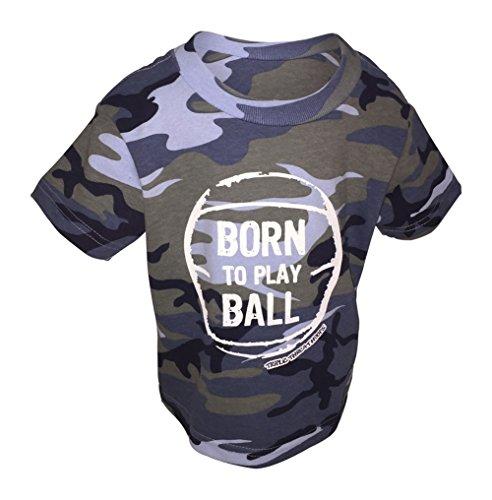 Triple Threat Hoops - Triple Threat Hoops Toddler Camo Navy Basketball T-Shirt (2T)