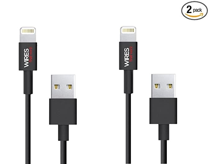 Amazon.com: Wires That Work® [2-Pack] 4 Foot / 1.2m Premium ...