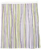 Sweet Potato Lulu Full Bed Skirts, White/Lavender/Green/Purple