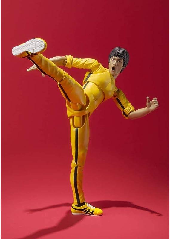 Siyushop Figura De Acción De Bruce Lee (Traje De Chándal Amarillo ...