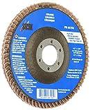 Shark 46195 4.5'' x7/8'' Ceramic Abrasive Flap Discs Type 29, 60 Grit, 10-Pack