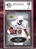 2006 Upper Deck Tuff Stuff Vince Young Texas BCCG 10 Graded Rookie Football Card