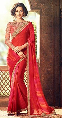 cerimonia culturale indiano donna bollywood Seta sposa indiano festival Matrimonio abito ricevimento latest sari da etnico jari tradizionale Saree richlook designer partywear di 301 d8qPdI