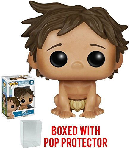 Funko Pop! Disney Pixar: Good Dinosaur - Spot Vinyl Figure (Bundled with Pop Box Protector Case)