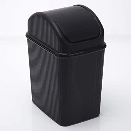 Amazoncom Trash Can Hflove Table Top Mini Plastic Countertop Swing
