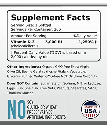 Vita Optimum Vitamin D3 5000 IU