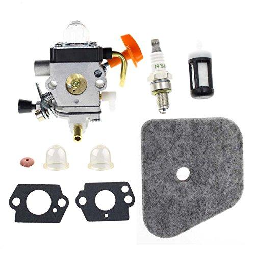 HIPA C1Q S97 Carburetor With Air Filter Fuel Line Kit For