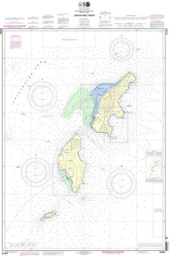 NOAA Chart 81067: Commonwealth of the Northern Mariana Islands Saipan and Tinian (Saipan Commonwealth Of The Northern Mariana Islands)