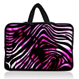 "Colorful Zebra 11.6"" 12"" Neoprene Laptop Sleeve Case Netbook Hide Handle Bag Pouch Cover For 12"" 11.6"" inch Apple Macbook Air,Samsung Google 11.6"" Chromebook,Acer Aspire S7/Acer C7 Chromebook,HP Dell Acer Thinkpad Sony IBM ASUS,Dell Inspiron 11z 1110,12.1"" Apple iBOOK PC,ASUS Taichi21,Acer Aspire V5,HP EliteBook 2530p,DELL Latitude E6230 XT2 XPS Duo,Lenovo Ideapad"