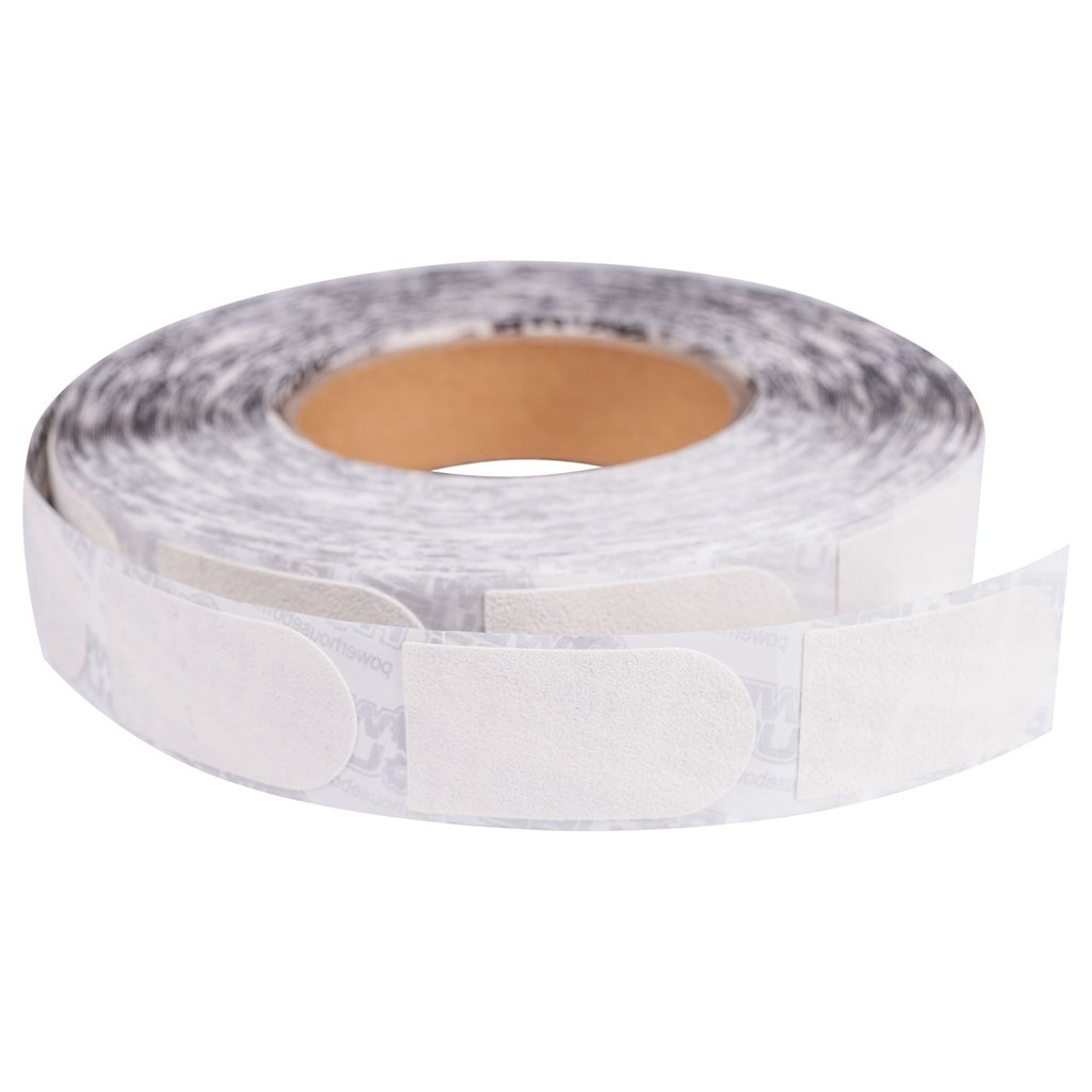 Ebonite Premium Bowling Tape- 1 Inch White Roll of 500 Pieces