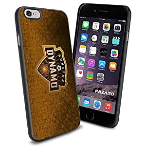 diy zhengSoccer MLS HOUSTON DYNAMO SOCCER CLUB FOOTBALL FC, Cool iPhone 6 Plus Case 5.5 Inch Smartphone Case Cover Collector iPhone TPU Rubber Case Black