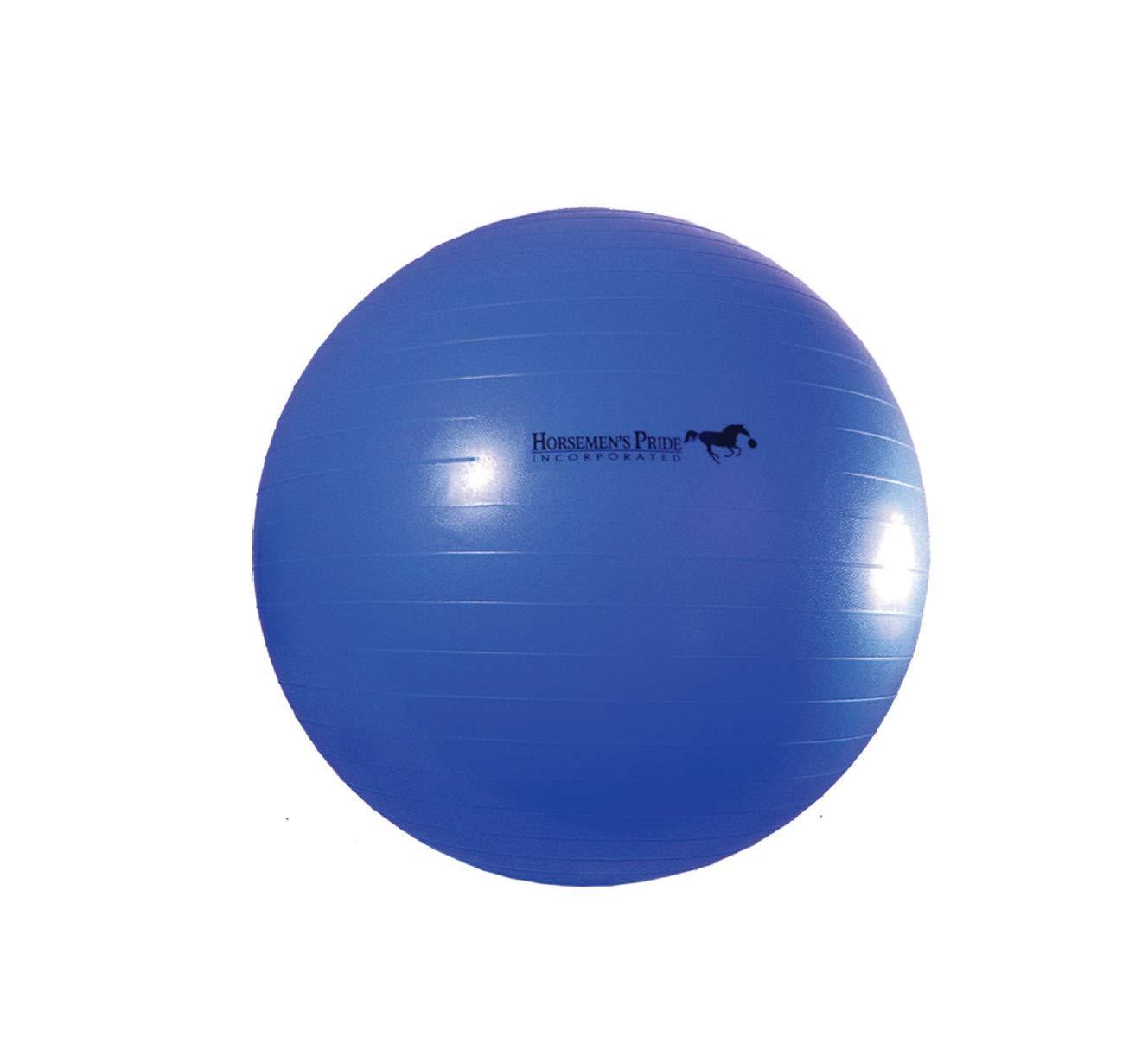 Horsemen's Pride 30-Inch Mega Ball for Horses, Blue by Horsemen's Pride