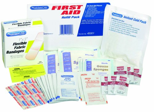 Physicians First Aid Refill Contains