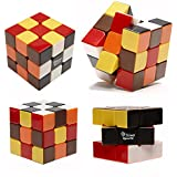 Stickerless Speed Cube, 3x3x3 Ultra-smooth Cube in New, Challenging Colors, Unconditional 60-Day Money Back Guarantee on Our Xino Fire Cube