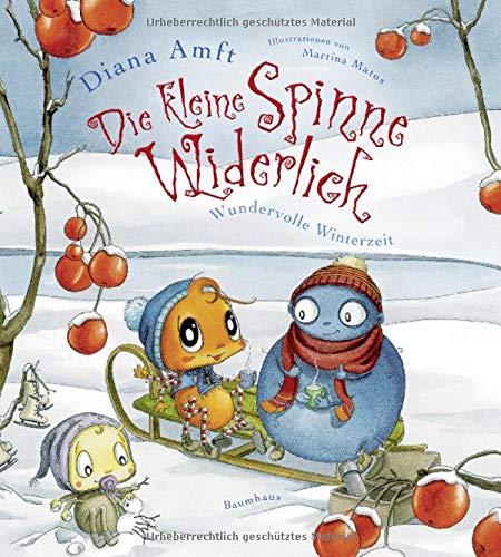 Die kleine Spinne Widerlich - Wundervolle Winterzeit: Band 7