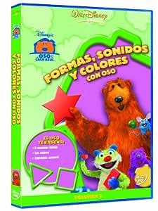 El Oso De La Casa Azul: Formas, Sonidos Y Colores DVD