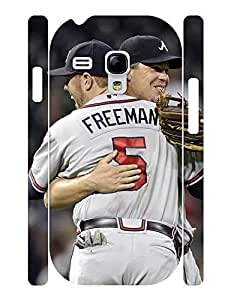 Fancy Elegant Baseball Player Print Phone Shell Accessories Cover for Samsung Galaxy S3 Mini I8200 Case