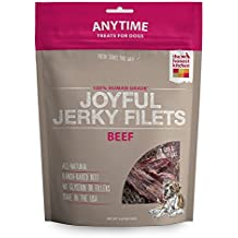 Honest Kitchen The Joyful Jerky Dog Treats - Natural Human Grade Dehydrated Dog Treats, Beef Filet, 3.25 oz