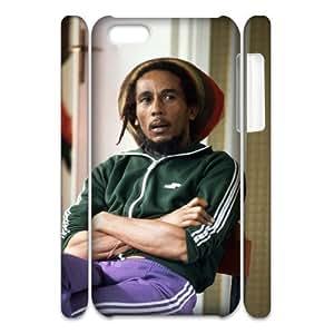 LJF phone case C-EUR Diy 3D Case Bob Marley for ipod touch 5