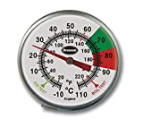 Stainless Steel Milk and Coffee Thermometer (125mm stem) by Brannan