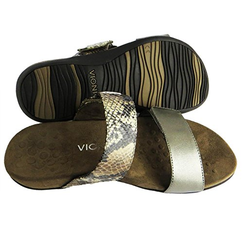 Vionic Womens Rest Camila Synthetic Sandals Marrón - marrón