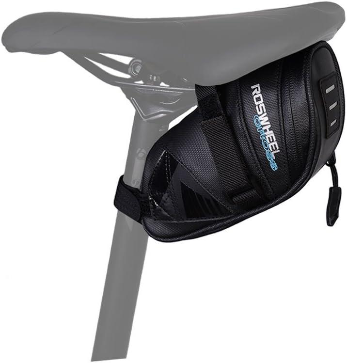 WOTOW impermeable Bicicleta Saddle Bag: Amazon.es: Deportes y aire libre