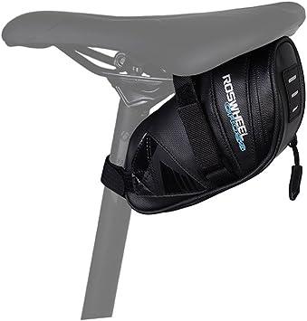 WOTOW Bolsa de sillín de Bicicleta Bolsa de Tubo Superior Bolsa de ...