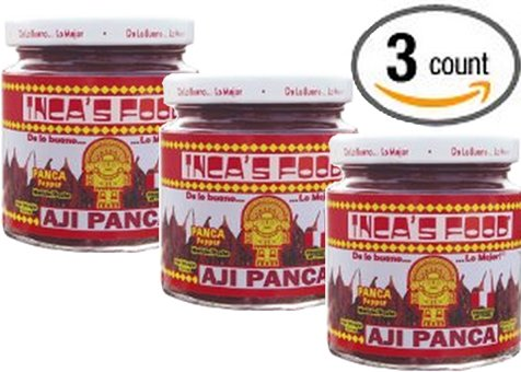 Inca's Food Aji Panca Paste 7.5 Oz (3-pack)