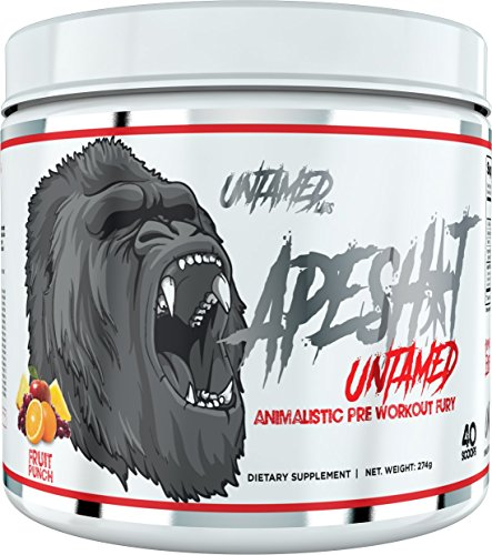 Ape Shit Pre Workout Supplement by Untamed Labs | Energy, Pump, Endurance