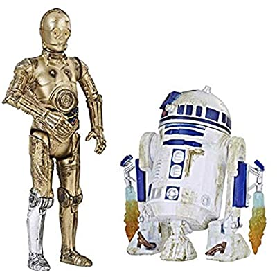 Star Wars Force Link 2.0 C-3PO & R2-D2 Two-Pack: Toys & Games