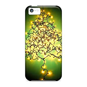 Premium Tree Of Light Back Cover Snap On Case For Iphone 5c