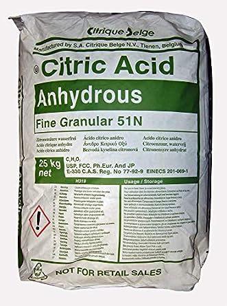 Citric Acid Anhydrous Fine Granular [C6H8O7] [CAS_77-92-9