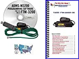 Yaesu FTM-3200DR Accessory Bundle - 3 Items: Includes RT Systems Programming Software/Cable Kit, Nifty! Mini-Manual and Ham Guides TM Quick Reference Card!!