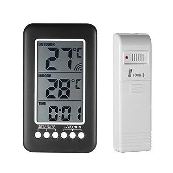 Vosarea - Termómetro exterior para frigorífico y congelador ...