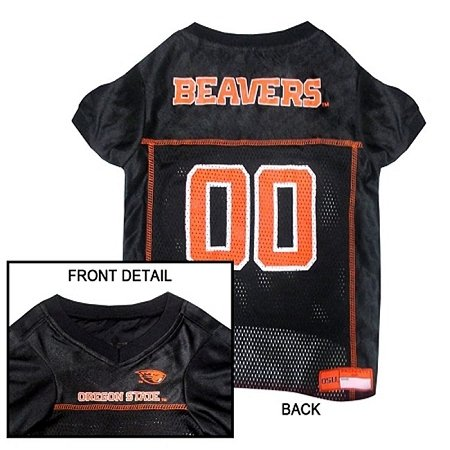 Mirage Pet Products Oregon State Beavers Jersey for Dogs and Cats, Large